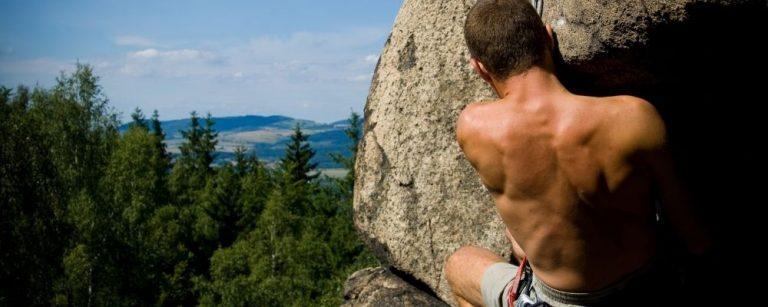 Man die stresshormonen krijgt door bergbeklimmen