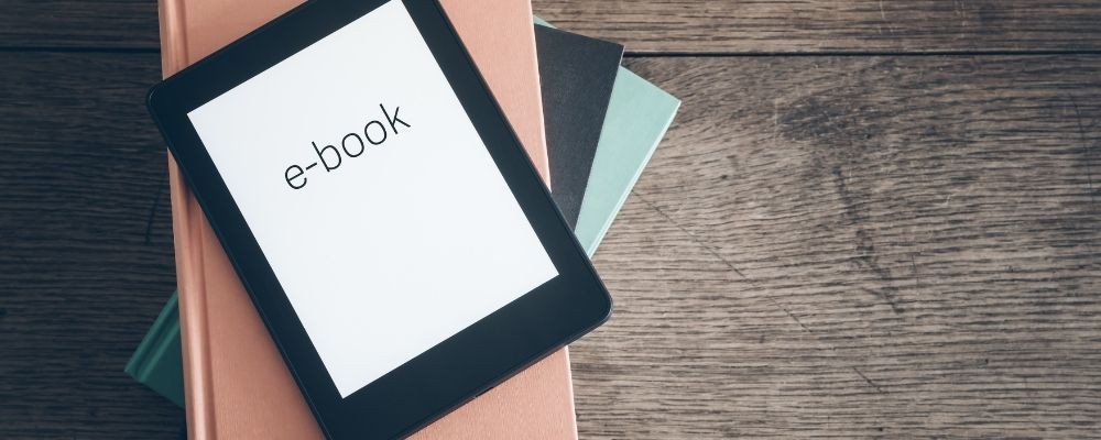 E-Book op een tablet