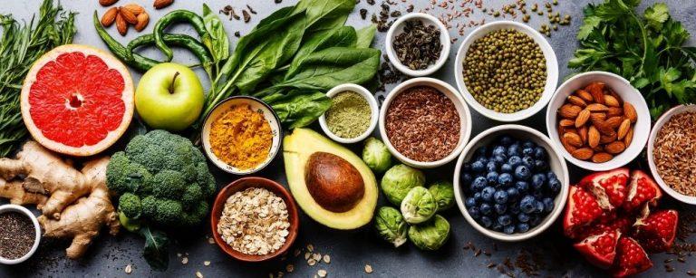 Variatie van gezond eten