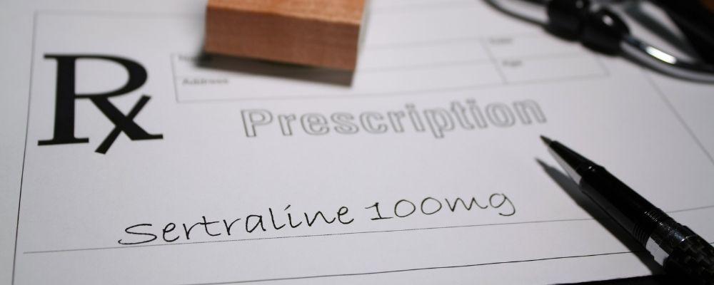 Sertraline voorschrijven